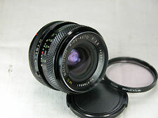 Offer SOLIGOR MC 28mm F2.5 lens bundle Filter for CANON FD AE1 A1 F1 AT1 AL1 FTb