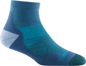 USA DARN TOUGH 1048 Baltic WOMENS RUNNING 1/4 SHOW Ultra LightWeight Socks S M L