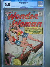 Wonder Woman #98 CGC 5.0 1958 1st Ross Andru & Mike Esposito Art Team in Title