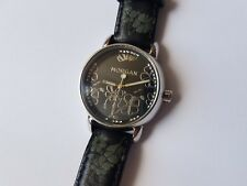 Morgan M924BSS Women's Watch With Black Leather Strap