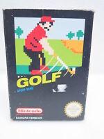 Nintendo NES - Spiel | GOLF inkl. OVP und Schieber mit Anleitung | PAL