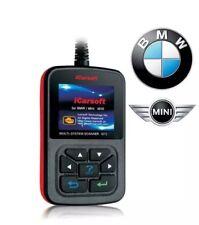 BMW / MINI COOPER PRO DIAGNOSTIC SCANNER TOOL CODE READER ABS + SRS AIRBAG OBD2