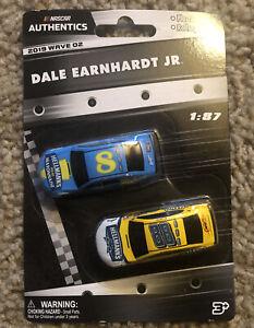NASCAR Authentics Dale Earnhardt Jr 187 Die-Cast 2 Pack Wave 2