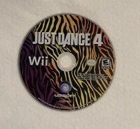 Just Dance 4 (Nintendo Wii, 2012) Dancing IV Wii U Video Game Disc Only