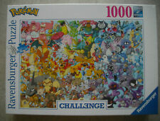 Ravensburger Puzzle 1000 Teile Challenge - Pokemon Art.-Nr. 15166