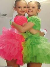 Dance Costume  lyrical ballet tap  skate green pageant dress squeezable
