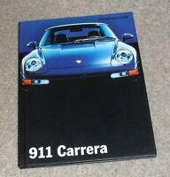 Porsche 911 993 Carrera 2 & 4 Hardback Brochure 1994 Coupe & Cabriolet