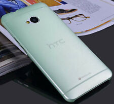 New 0.3mm Ultra Thin Mist hard case back cover for HTC one M7