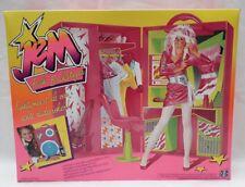Poupée Jem et les Hologrammes Backstager Hasbro Vintage no Gold Clash Rio Flash