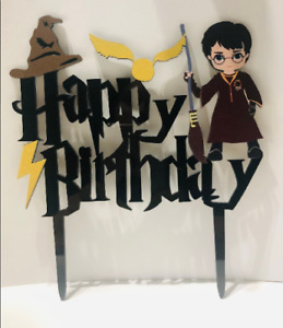 Harry Potter Birthday Cake Topper FREE SHIPPING!