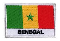 Ecusson patche patch SENEGAL sénégal 70 x 45 mm pays du monde à coudre