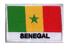 Ecusson à coudre patche patch SENEGAL sénégal 70 x 45 mm pays du monde