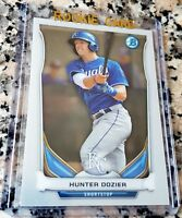 HUNTER DOZIER 2014 Bowman Chrome #1 Draft Pick LOT Rookie Card RC Royals HOT $$