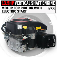 NEW 13.5 HP Vertical Shaft Petrol Engine Ride On Mower Motor With Electric Start