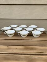 Corelle CRAZY DAISY SPRING BLOSSOM 8 hook cups with creamer and sugar