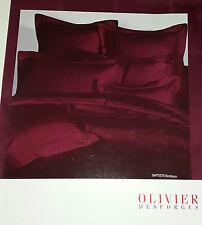 OLIVIER DESFORGES DRAP HOUSSE BAPTISTE 90X190 CM 100% COTON PEIGNE BORDEAUX