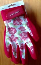 BNWT Laura Ashley Gardening Gloves All Weather Gloves Cressida RED. SMALL