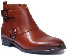 Justin Reece 7900 Para Mujer De Cuero Matt Brown botas militares plana tamaño de Reino Unido 3 - 8