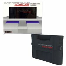 SUPER RETRO ADVANCE ADAPTER GBA TO SNES - NINTENDO GBA GAMEBOY ADVANCED NEW