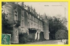 cpa French Castle LAVENAY - PONCÉ SUR LE LOIR (Sarthe) CHÂTEAU de la FLOTTE 1909