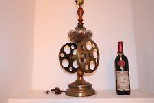 Vintage Ethan Allen Dark Wood Coffee Grinder Table Lamp