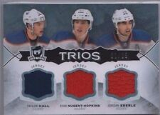 HALL / EBERLE / NUGENT-HOPKINS 14-15 Upper Deck The Cup Trios Jersey 01/25