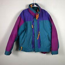 Vintage Woolrich Down Jackets Men's L Retro 3 in 1 Winter Coat 100% Down