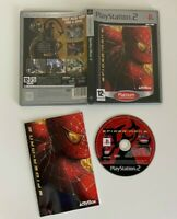 Spider-Man 2  PS2 - VGC - Complete - Free P&P
