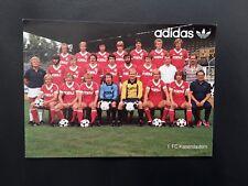 FC Bayern München DFB HSV 1.FCK Werder Mannschaftsfoto Teamfoto VFB Stuttgart