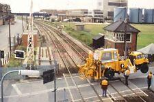 PHOTO  COLTHROP LEVEL CROSSING 1980'S