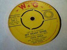 PAUL ANKA---MY HEART SINGS     45