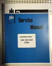330 International Harvester Tractor Technical Service Shop Repair Manual Farmall