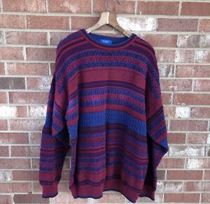 Vintage PENDLETON Lobo Multi-Color Crewneck Sweater Sz XL 23x29
