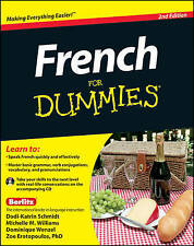 French for Dummies, 2nd Edition with CD by Michelle M. Williams, Dodi-Katrin Schmidt, Dominique Wenzel, Zoe Erotopoulos (Paperback, 2011)