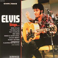 Elvis Presley Sings Red Vinyl DBL LP RSD Record Day 2015 Ltd 1139/1500