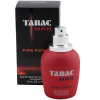 Tabac Man FIRE POWER Eau de Toilette EdT Spray 50 ml for man TOP