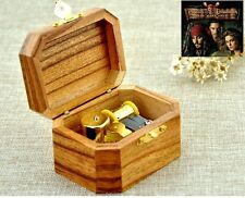 Natural Wood Octagon Music Box ♫  Pirates of the Caribbean- He's a Pirate ♫
