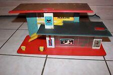 ancien jouet garage tôle sev marchal shell années 50/60
