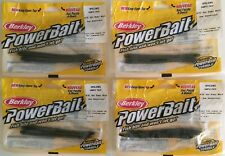 "NEW Lot of Berkley PowerBait 4.75"" Slim Shaky Worm - 4 Pks of 2ea - Watermelon"