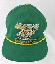 Rusty Wallace Kodiac Bear on the Prowl Autographed Vintage Snapback Mens Hat USA