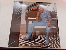 VINYL LP...PEABO BRYSON -DON'T PLAY WITH FIRE 1982 CAPITOL REC ST-12241 SHRINK-w