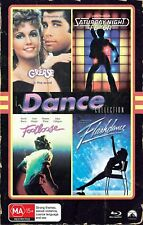 GREASE + SATURDAY NIGHT FEVER + FOOTLOOSE + FLASHDANCE [Blu-ray] VHS Edition