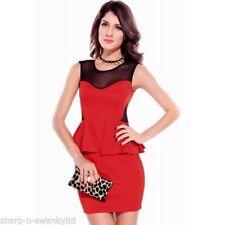 Vestidos de mujer Mini sin marca color principal rojo