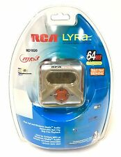 Vintage RCA Lyra! RD 1020 MP3 Player 64mb USB/ SD Card Connection NEW SEALED NOS