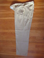Ermenegildo Zegna mens PANTS Size 36 khakis chinos brown jeans trousers