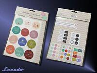 Aufkleber Set Handmade 46-teilig - Für Dich Sticker für Geschenke