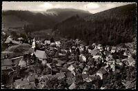 WILDEMANN Harz AK 1958 Vogelschau auf den Ort Totale alte Postkarte