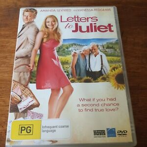 Letters to Juliet DVD R4 VERY GOOD - FREE POST