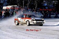 ARMIN Schwarz TOYOTA CELICA GT-4 Monte Carlo Rally 1991 fotografia 1
