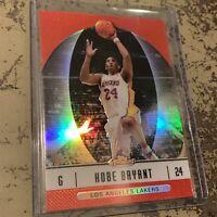 2006 Topps Finest Kobe Bryant #25 Red Refractor